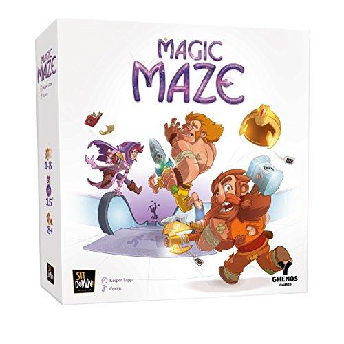 Ghenos Games GHE069Magic Maze–Juego de Mesa (Idioma español no garantizado)