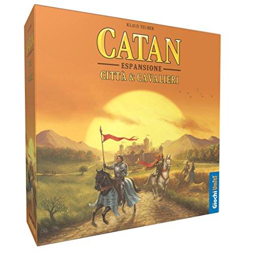 Giochi Uniti GU524 - Los Colones de Catan: Ciudad y Cavalieri