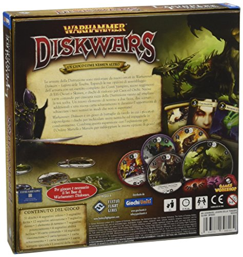Giochi Uniti - Warhammer Diskwars Legioni Delle Tenebre (legiones de la Oscuridad)