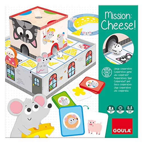Goula- MISSION CHEESE, Multicolor (Ref. 53152) , color/modelo surtido