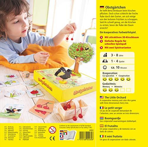 HABA 4460 Obstgärtchen - Juego Infantil de atención (en alemán)