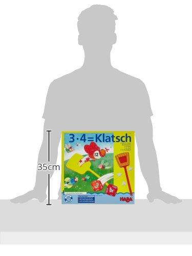 HABA 4538 3x4=Klatsch - Juego Educativo para Aprender a calcular (en alemán)