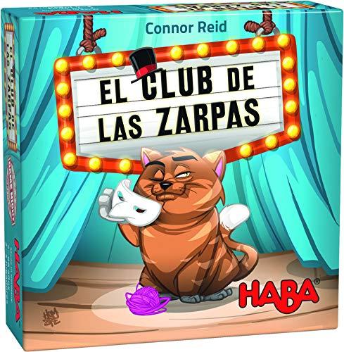 Haba Zarzas-ESP Juego de Mesa El Club de Las Zarpas, Multicolor (H305280)