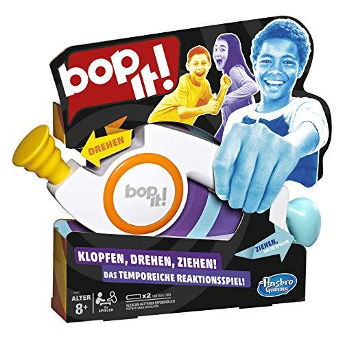 Hasbro Gaming, elektronisches Spiel für Kinder AB 8 Jahren Bop It, Juego electrónico para niños a Partir de 8 años, Multicolor (E6393100)