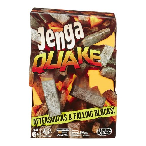 Hasbro Gaming - Jenga Quake, Juego de Mesa (A5405EU4)