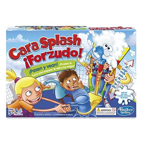 Hasbro Gaming- Juego de Mesa Cara Splash Forzudo (C2130105)
