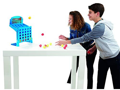 Hasbro Juegos niños–4 Gaming–Potencia 4Shots–Juego de Societe, e3578101, Multicolor
