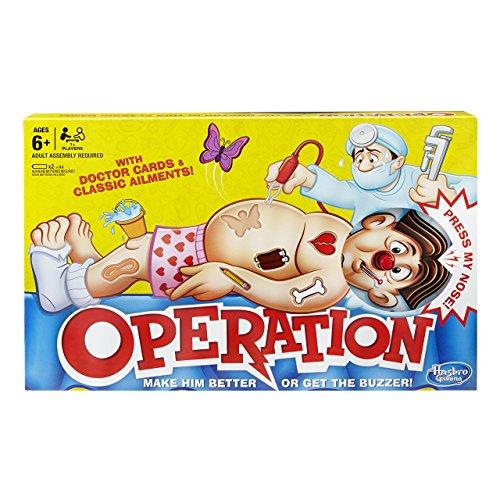 Hasbro - Operación (Juego de Mesa) (versión en inglés)