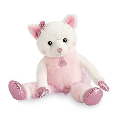 Histoire D 'Ours ho2841Chat Misty 25cm–Les Petits Twist, color rosa