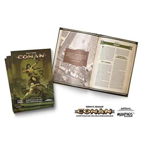 Holocubierta- Conan Libro básico, Color (HOLCON01)