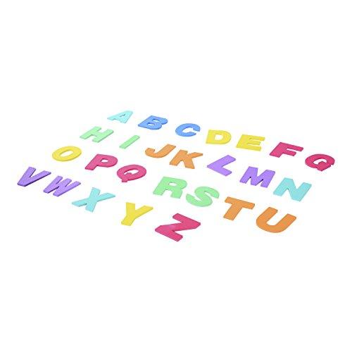 HOMCOM Alfombra Puzle 2.41㎡ Niños 26 Letras Goma Espuma Estera Juego Puzzle