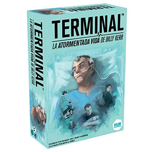 HUB Games- Terminal: La Atormentada Vida De Billy Kerr, Multicolor, Talla Única (HLN01ES)
