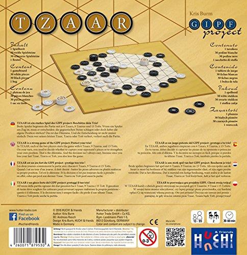 Huch & Friends 879530–tzaar, Familias Estrategia Juegos