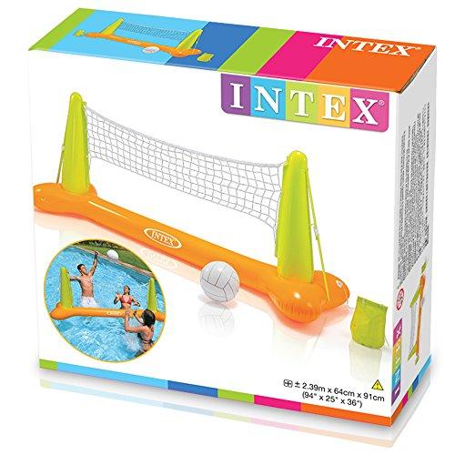 Intex 56508NP - Juego hinchable Vóley flotante 239 x 64 x 91 cm