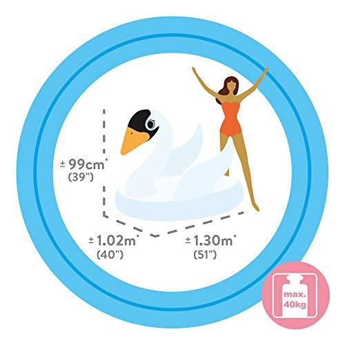 Intex 57557NP - Cisne hinchable 130x102x99 cm