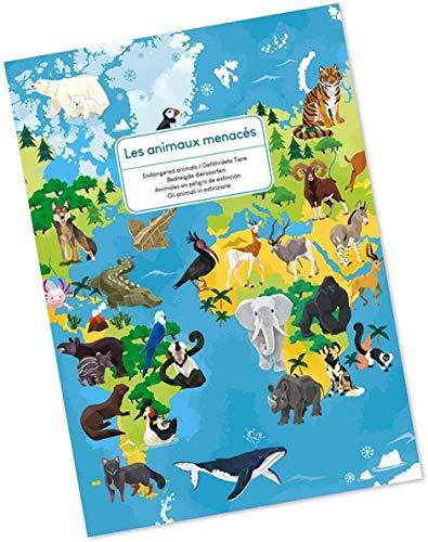 Janod Puzzle Animales EN Peligro DE EXTINCION