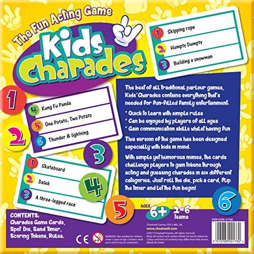 Juego De Charadas De Cheatwell Games Infantil