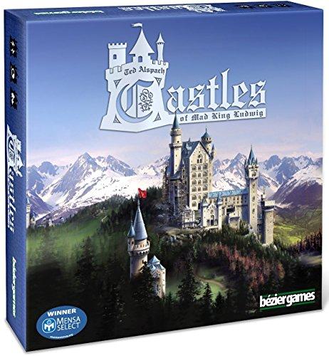 Juego de Mesa Bezier Games Castles of Mad King Ludwig