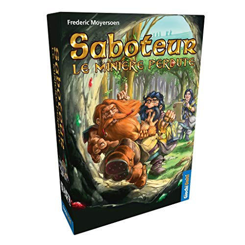 Juegos Unidos, Saboteur: Las Minas de Banco Perdidos Juego de la línea, Multicolor, 1