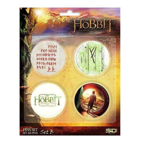 Juguetes SD - 4 Pin Paquete Los Hobbits Conjunto B - 8436541027411