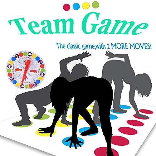 kitteny Juegos Suelo,Juego de Piso Familiar Tapete de Juego, Juegos de Mesa, Divertidos Juegos de Habilidad para niños y Adultos