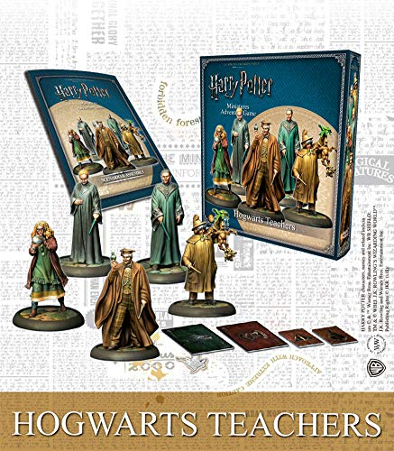 Knight Models Juego de Mesa - Miniaturas Resina Harry Potter Muñecos Mini Adventure Hogwarts Teachers English