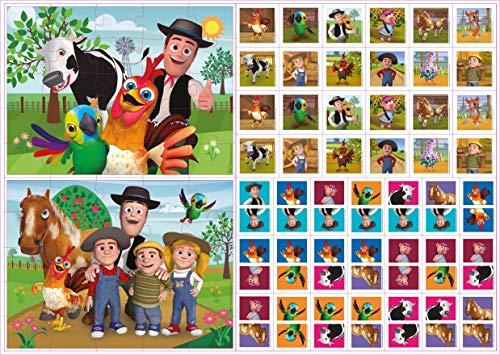 La Granja de Zenón- Juega y Aprende, Multicolor (Bandai EB81205) , color/modelo surtido