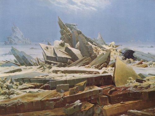 Lais Puzzle Caspar David Friedrich - El Océano Ártico (La expedición Accidental del Polo Norte, La Esperanza perdida) 1000 Piezas
