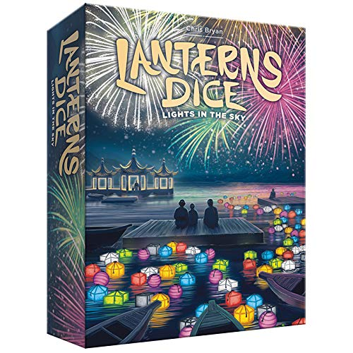 Lanterns Dice: Lights in the Sky Board Game [Importación inglesa]