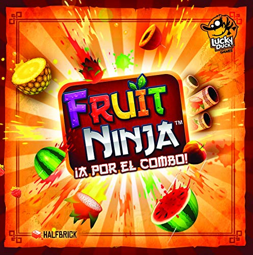 LAST LEVEL- Fruit Ninja Combo Party Castellano, Multicolor (BGFRUITNINJA)
