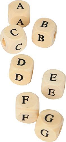 Legler - Abalorios en Forma de Dado, diseño de Letras (A Partir de 3 Años)