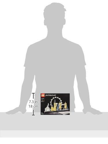 LEGO Architecture - Londres, Maqueta para Montar el Skyline con Big Ben, London Eye, el Puente de la Torre, Set de Construcción, Regalo Coleccionable con Detalles (21034)