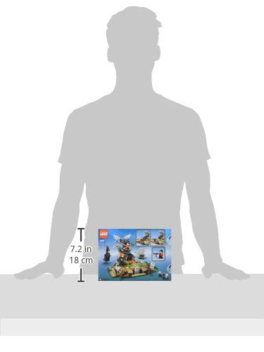 LEGO Harry Potter - Alzamiento de Voldemort, Juguete de construcción del Mundo Mágico, incluye Lápida de Tom Riddle y Minifigura de Voldemort, Novedad 2019 (75965)