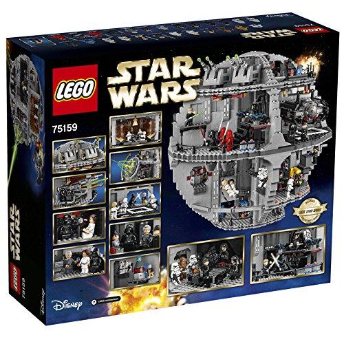 LEGO Star Wars TM - Death Star, maqueta de juguete de la Estrella de la Muerte de la saga La Guerra de las Galaxias (LEGO 75159)