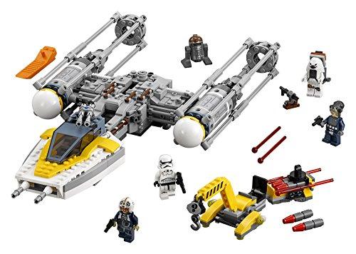 LEGO Star Wars - Y-Wing Starfighter, Juguete de Construcción de Nave Espacial para Recrear Aventuras de la Guerra de las Galaxias (75172)