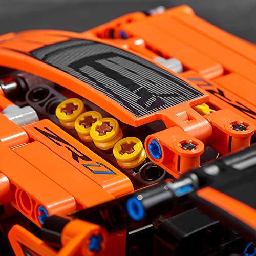 LEGO Technic - Chevrolet Corvette ZR1, maqueta de coche de juguete 2 en 1 para construir (42093)