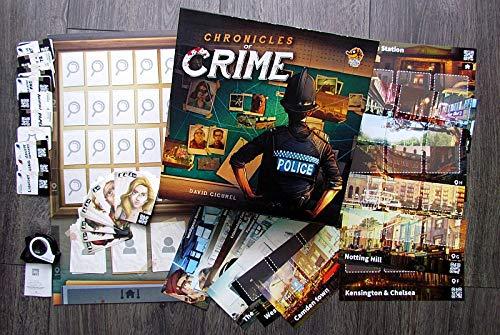 Lucky Duck Games LKY035 Crónicas del Crimen (versión inglesa) , color/modelo surtido