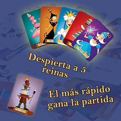 Lúdilo- Reinas durmientes, Juego de Cartas Educativo para niños, Multicolor (80363)