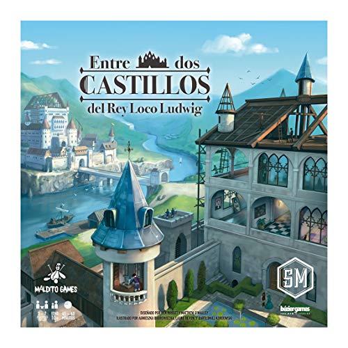 Maldito Games Entre Dos Castillos del Rey Loco Ludwig - Juego de Mesa en Castellano