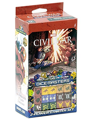 Marvel Dice Masters Civil War - Starter
