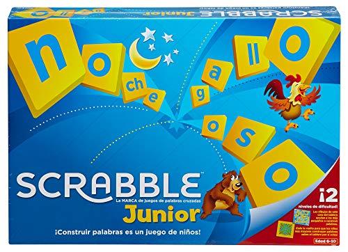 Mattel Games Scrabble junior, juegos de mesa para niños (Mattel Y9669)