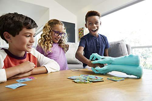 Mattel Games Zombie Gotcha Juego de mesa con cartas de zombies para niños +5 años (GFG17)