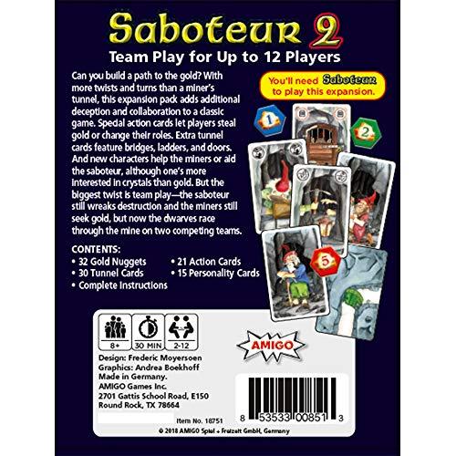 """Mayfair Games mfg05713–de Tablero Saboteur 2"""""""