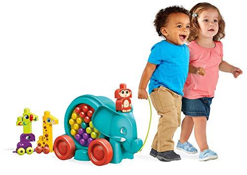 Mega Bloks Bloquefante divertido. Jugete de construcción para bebé + 1 año (Mattel FFG21)