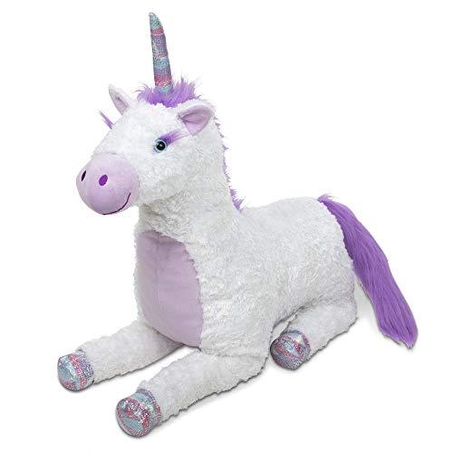 Melissa & Doug- Jumbo Misty Unicorn Peluches (40405)