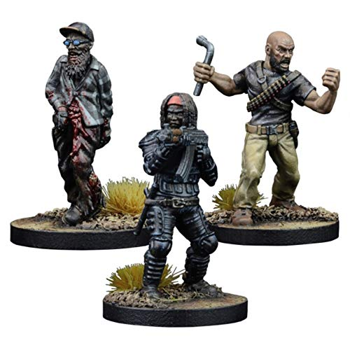 Michonne Vengeful Hunter Booster: The Walking Dead All Out War Miniatures Game - English