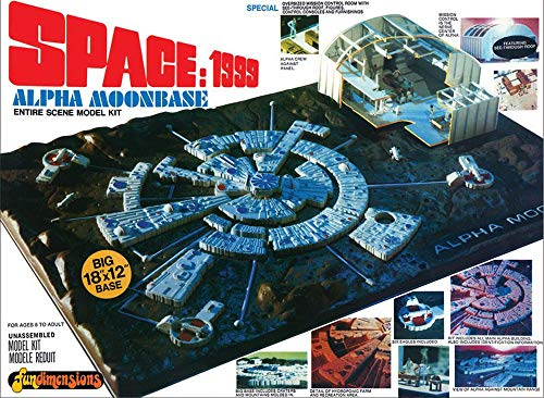 MPC Space 1999 Moon Base Alpha Model Kit by C.P.M.