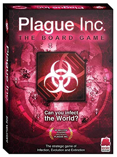 Ndemic Creations Plague Inc. The Board Game - Juego de Mesa (Idioma español no garantizado)