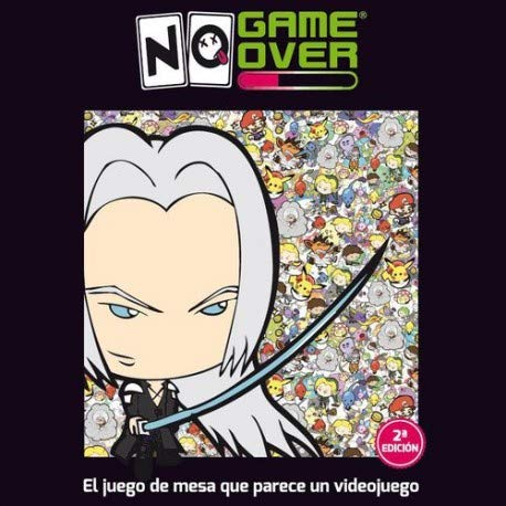 No Game Over- Juego de Cartas, Multicolor (0701197944466)