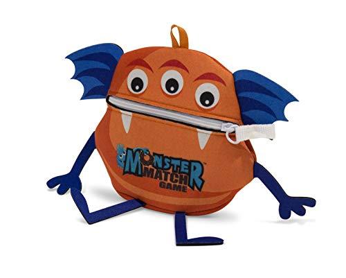 North Star Games MONSTERMAT North Star Monster - Juego de Cartas con diseño de Monstruo, Color Naranja